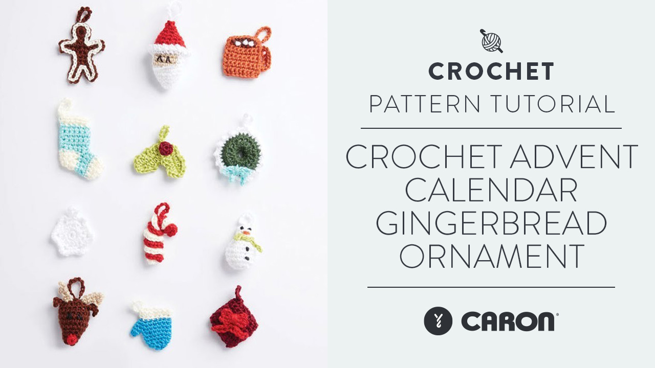 Crochet: Advent Calendar Gingerbread Ornament