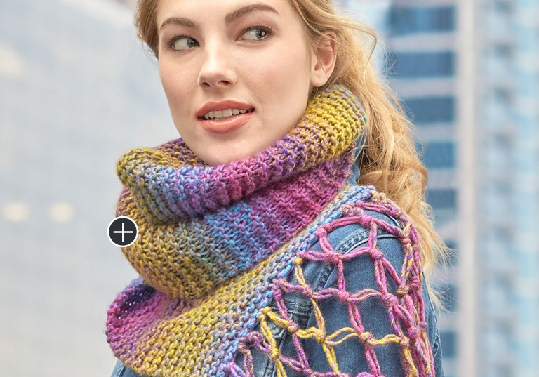 Easy Exploration Knit Scarf