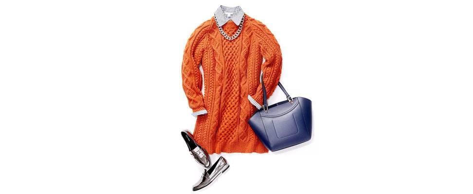 Honeycomb Aran Dress Sunday Best Look