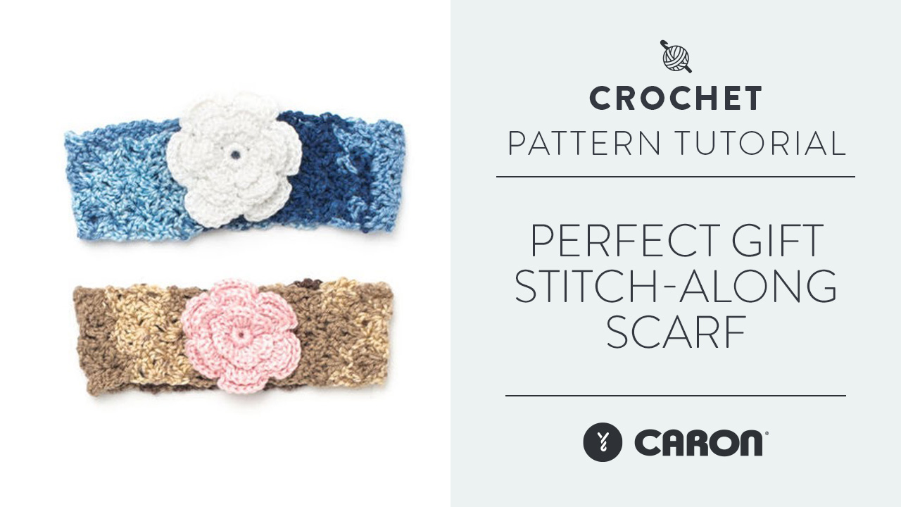 Perfect Gift Stitch-Along: Scarf