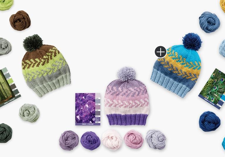 Intermediate Fair Isle Knit Hat