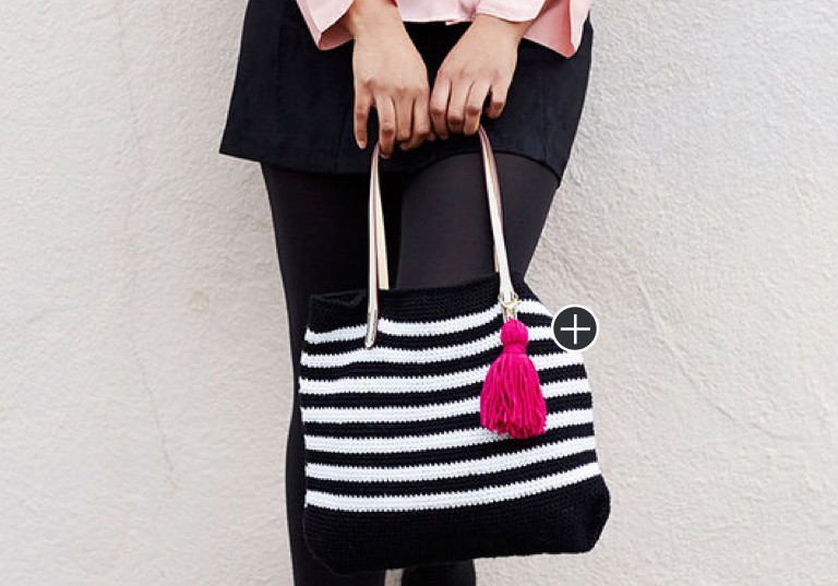 Beginner Mod Chic Crochet Tote