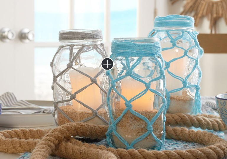Beginner Fish Net Jars