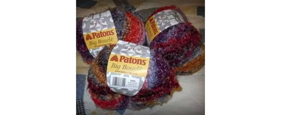 Patons Big Boucle yarn