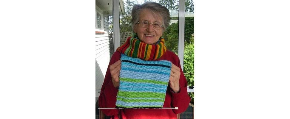 Laynie's Crochet Temperature Scarf