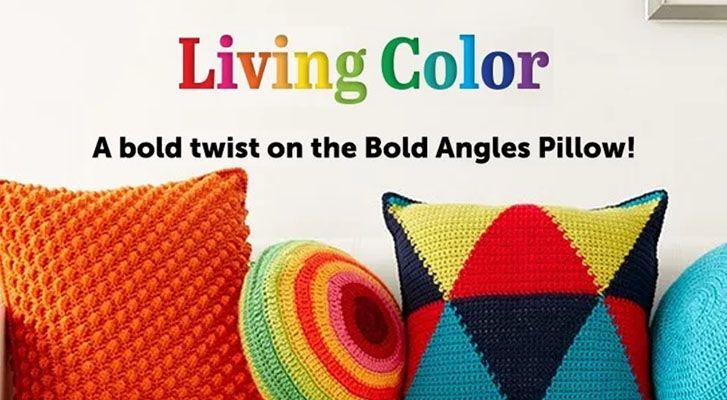 Bold Angles Pillow Color Update