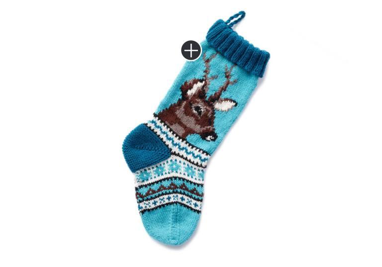 Intermediate On Dasher Knit Stocking
