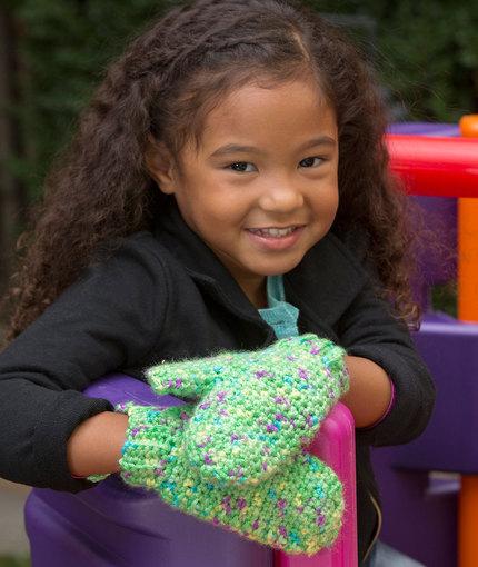 Happy Hands Child Mittens