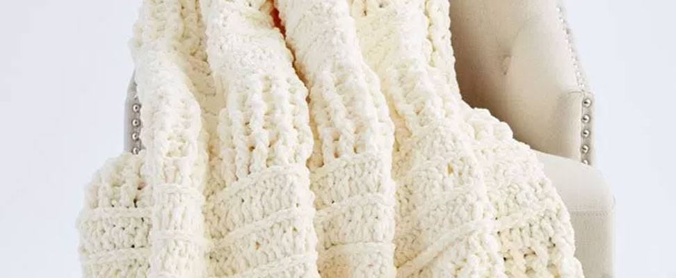 Here and There Crochet Blanket