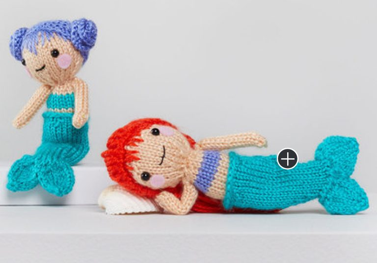 Intermediate Tina and Nina Knit Mermaids