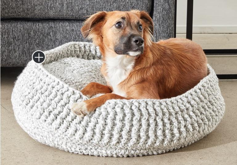 Easy Crochet Pet Bed