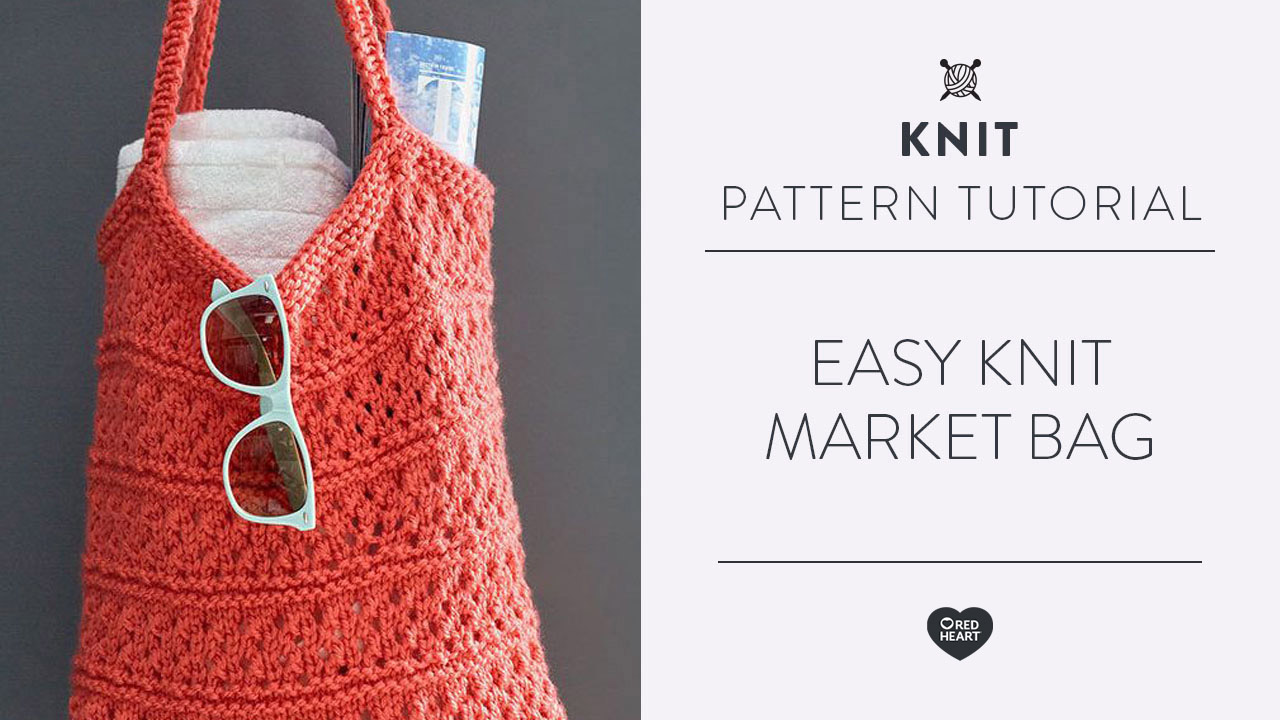 Easy Knit Market Bag