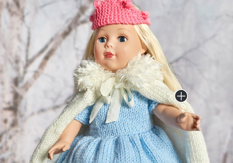 Intermediate Royal Princess Knit Doll Outfit
