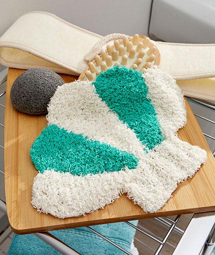 Seashell Scrubby Free Knitting Pattern LM5434