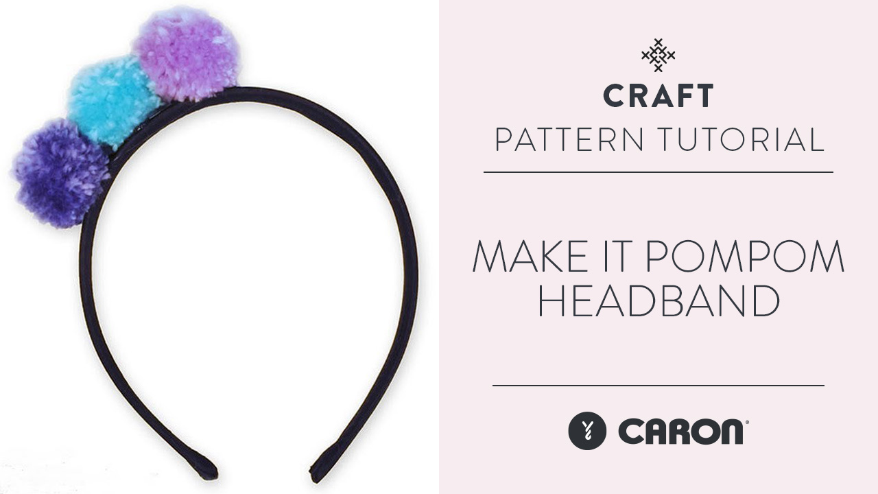 Make It: Pompom Headband