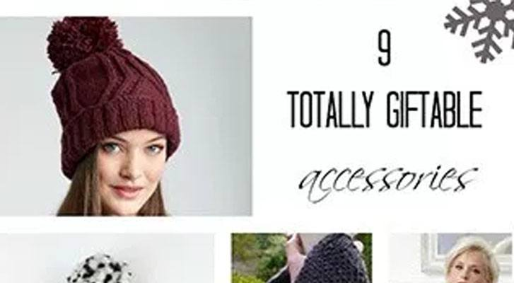 5 Totally Giftable, Accessories!