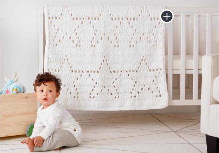 Easy Star of the Show Crochet Blanket