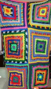 Jenny K-O'C husband's second afghan