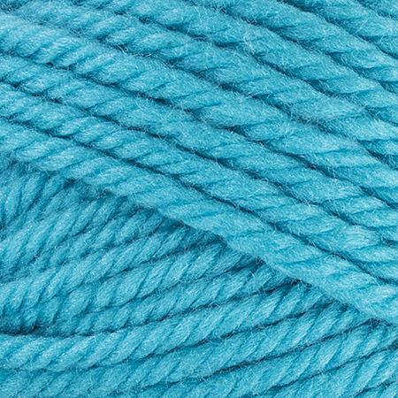 E856 Red Heart Soft Essentials yarn in 7508 Turquoise