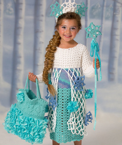 LW4443 Snow Princess Dress