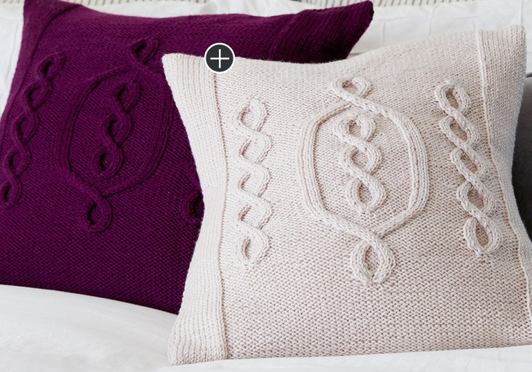 Intermediate Hygge Chic Knit Pillow