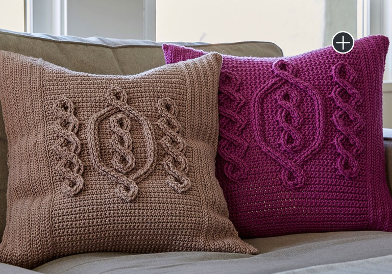 Experienced Hygge Chic Crochet Pillow