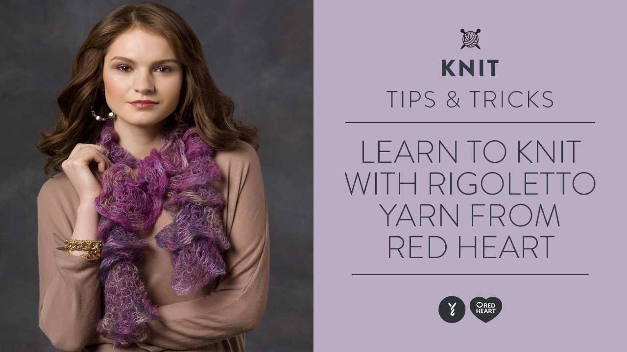 Learn to Knit with Rigoletto Yarn
