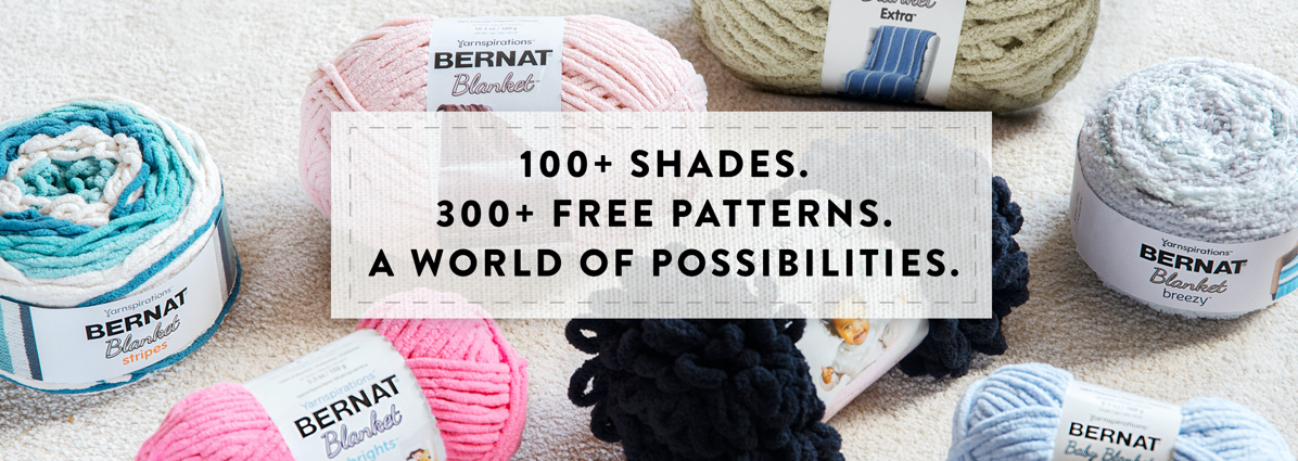 Bernat Blanket Yarn: A Whole World To Discover