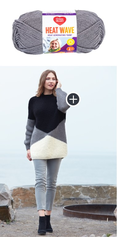 Intermediate Bold Angles Knit Pullover