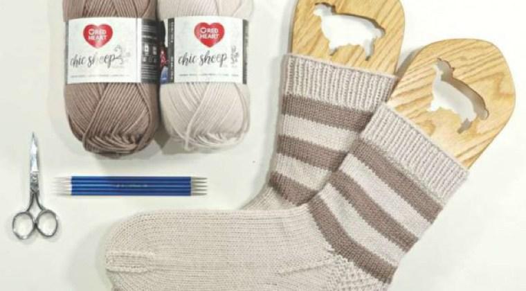 Marly Bird Hygge Stripe Socks