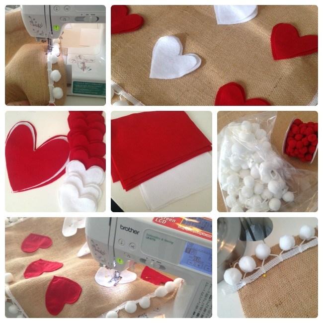 Heart Pom Pom Pillows Yarnspirations