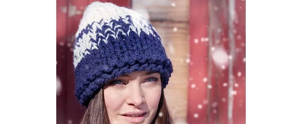 Bulky Gradient Hat