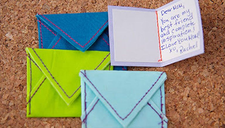 DIY Tiny Notes & Envelopes