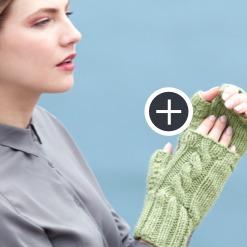 Intermediate Heart Warming Wristers