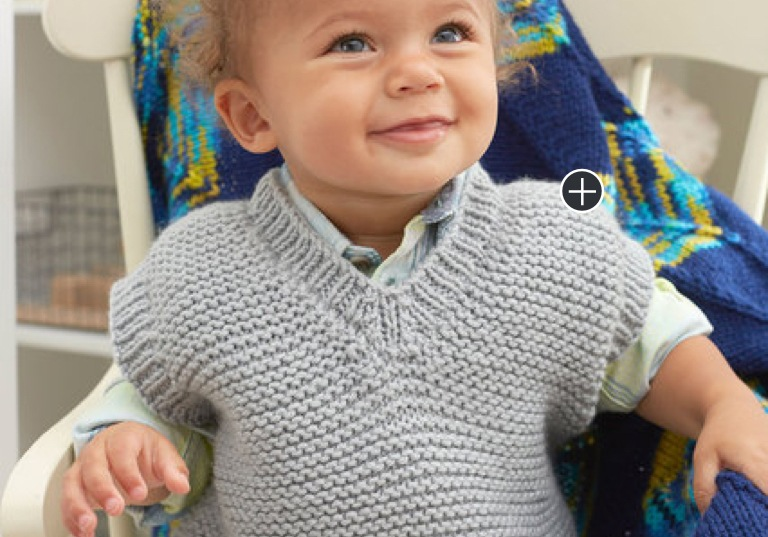 Easy Baby's Knit Play Vest