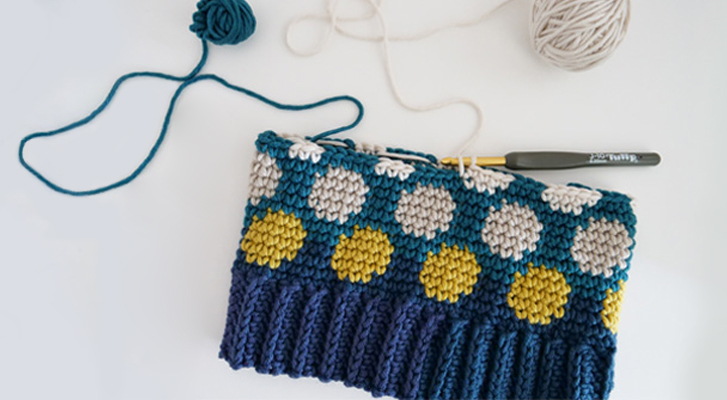 Make a Polka Dotty Crochet Hat | Blog