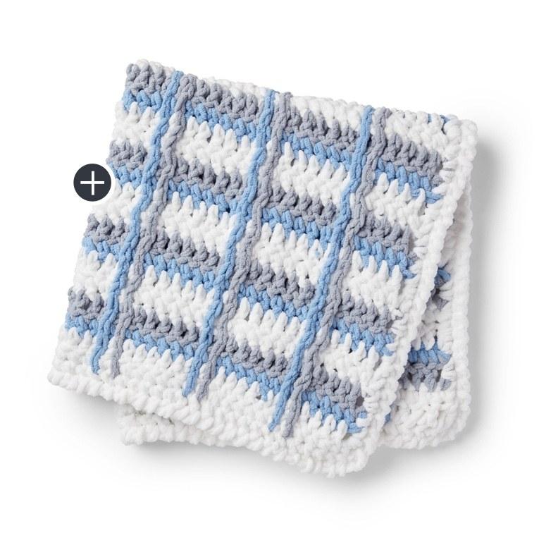 Knit Bunting Bag