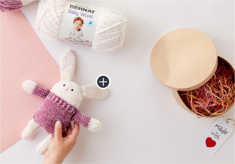 Easy Square Hare to Crochet