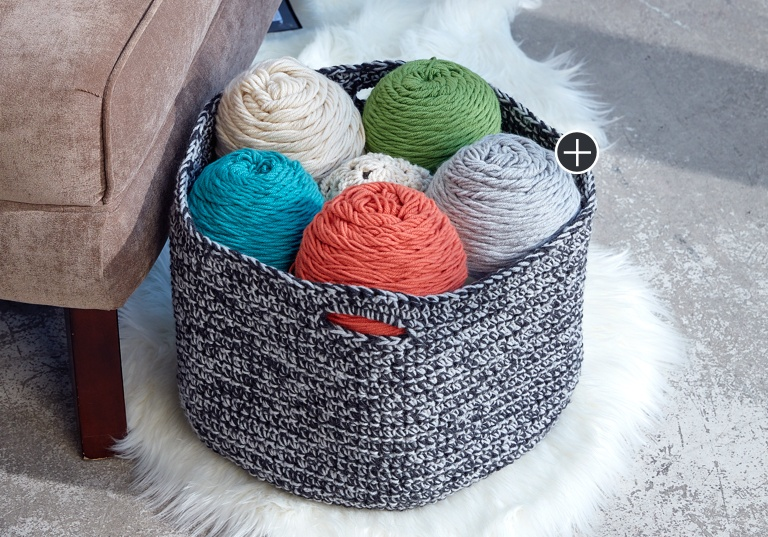 Easy Double Good Crochet Basket