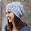 How to Knit Polka Dot Knit Hat | Blog