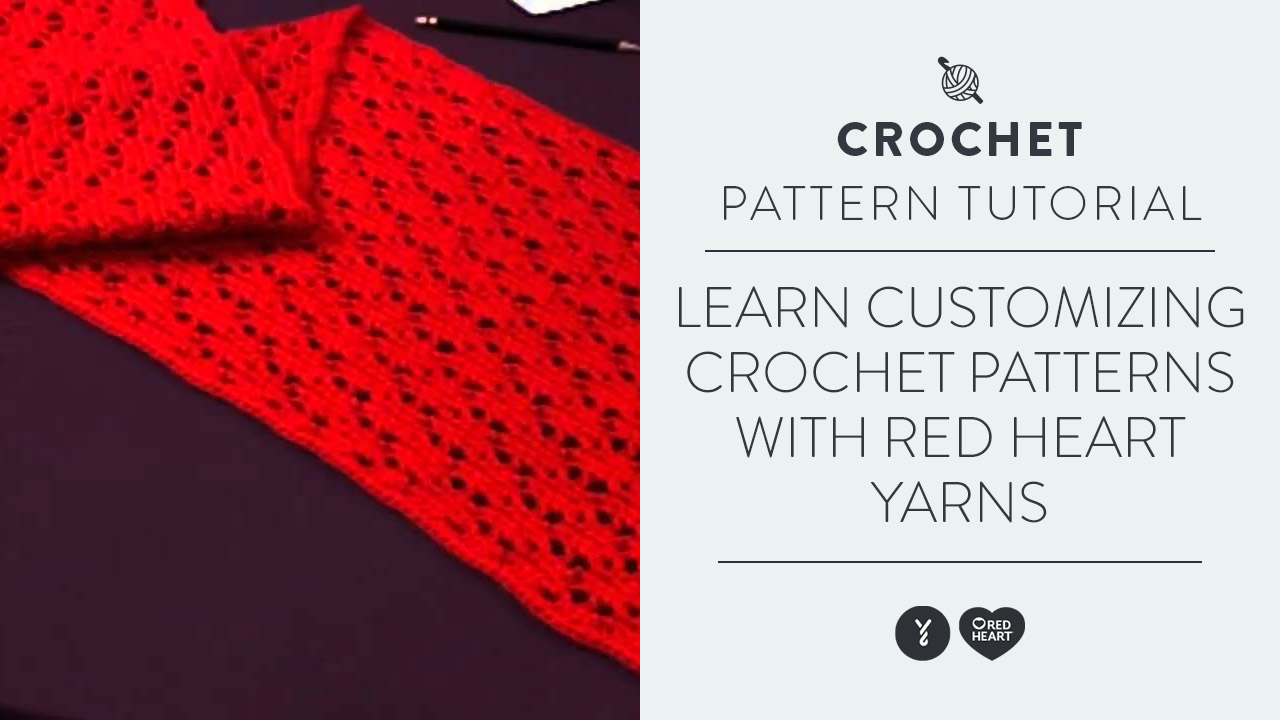Learn Customizing Crochet Patterns