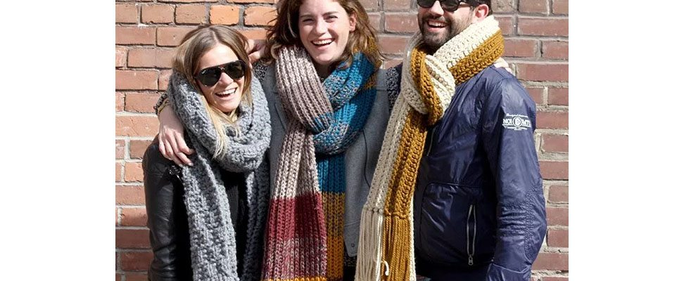 Knit and Crochet Super Scarves