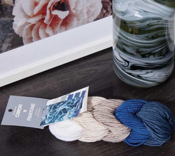 Caron x Pantone Prismatic Crochet Wall Hanging 1