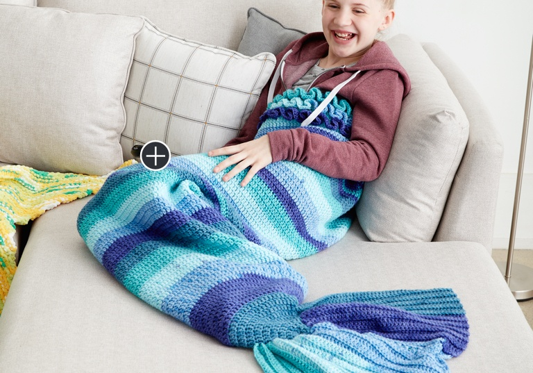 Intermediate Mermaid Tail Snuggle Sack