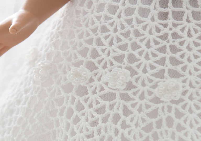 Experienced Crochet Doll Wedding Dress