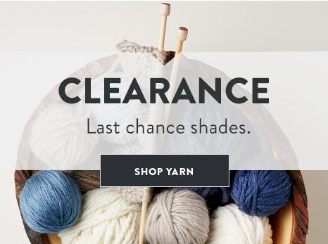 Clearance Yarn