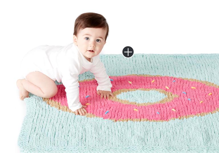 Intermediate Knit Donut Blanket