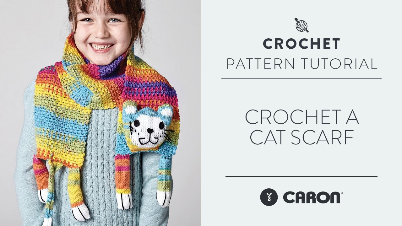 Crochet A Scarf: Cat Scarf