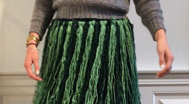 Super Easy DIY: Yarn Hula Skirt