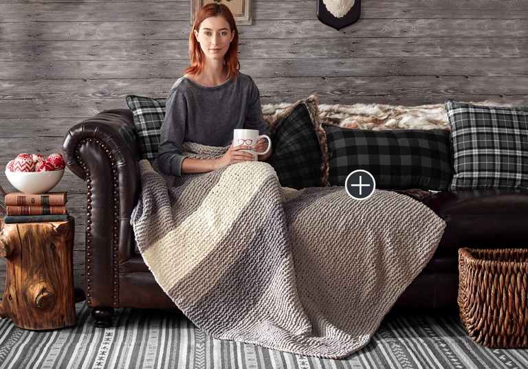 Beginner Hiberknit Knit Blanket